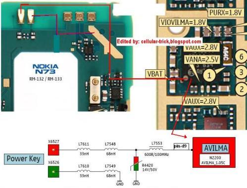 Service Hp Sendiri   Jalur On  Off Nokia N73  U00ab Jadwal