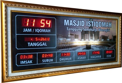 jam digital masjid