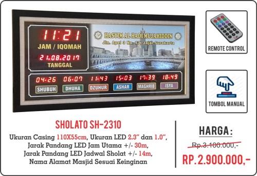 Jam Digital Untuk Masjid